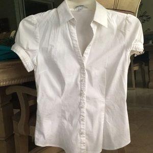 EXPRESS White top, V-neck